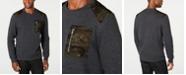 INC International Concepts INC Men's Mesh Trim Sweater, Created for Macy's