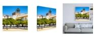 "Trademark Global Philippe Hugonnard Made in Spain 3 Alcazar of Seville Canvas Art - 19.5"" x 26"""