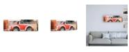 "Trademark Global Philippe Hugonnard Viva Mexico 2 Small VW Beetle Car II Canvas Art - 15.5"" x 21"""