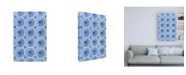 "Trademark Global Philippe Hugonnard Dolce Vita Rome Vatican Blue Mosaic Canvas Art - 19.5"" x 26"""