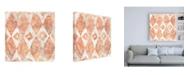 "Trademark Global June Erica Vess Red Earth Textile VI Canvas Art - 36.5"" x 48"""