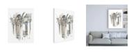 "Trademark Global Ethan Harper Plein Air Interior Study III Canvas Art - 36.5"" x 48"""