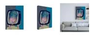"Trademark Global Ronny Z iTube Canvas Art - 19.5"" x 26"""