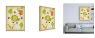"Trademark Global Deborah Kopka Les Beaux Legumes (The Beautiful Vegetables) Vintage Canvas Art - 36.5"" x 48"""