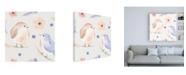 "Trademark Global Jenaya Jackson Spring Sentiments pattern IB Canvas Art - 36.5"" x 48"""