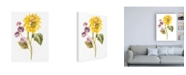 "Trademark Global Danhui Nai Floursack Autumn III on White Canvas Art - 36.5"" x 48"""