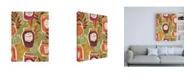 "Trademark Global Janelle Penner Spread the Love Pattern IB Canvas Art - 19.5"" x 26"""