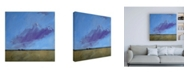 "Trademark Global Paul Baile Distant River Canvas Art - 19.5"" x 26"""