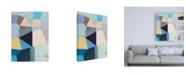 "Trademark Global Naomi Taitz Duff Sitting Still Canvas Art - 19.5"" x 26"""