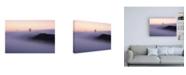 """Trademark Global Bruce Gett Batman Fog Canvas Art - 15.5"""" x 21"""""""
