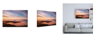 """Trademark Global Bruce Gett Golden Morning Canvas Art - 15.5"""" x 21"""""""