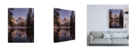 "Trademark Global Bruce Gett Roadside Reflection Canvas Art - 36.5"" x 48"""