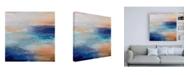 "Trademark Global Karen Hal Coastal Living Canvas Art - 19.5"" x 26"""