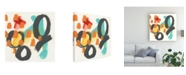 "Trademark Global June Erica Vess Counting Colors II Canvas Art - 15"" x 20"""