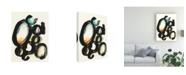 "Trademark Global June Erica Vess Cellular Structure I Canvas Art - 20"" x 25"""