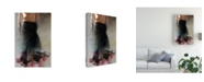 "Trademark Global Miriana Four Dozen Roses L Canvas Art - 20"" x 25"""