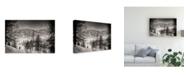 """Trademark Global Vito Guarino Finally at Home Canvas Art - 20"""" x 25"""""""