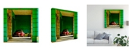 "Trademark Global Yawen Wu Cuba Impression 17 Havana Canvas Art - 15"" x 20"""