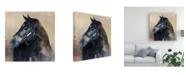 "Trademark Global Marilyn Hageman Ritzy Light Canvas Art - 27"" x 33"""