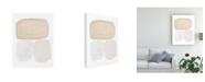 "Trademark Global Piper Rhue Graystone Neutral Canvas Art - 15"" x 20"""