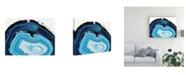 "Trademark Global Naomi Mccavitt Agate Studies I Canvas Art - 20"" x 25"""