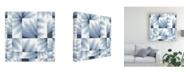 "Trademark Global Nikki Galapon Gradient Indigo IV Canvas Art - 20"" x 25"""