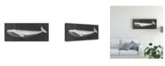 "Trademark Global John Butler Whale Watching I Canvas Art - 37"" x 49"""