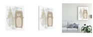 "Trademark Global June Erica Vess Woodland Whimsy II Canvas Art - 20"" x 25"""