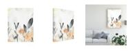 """Trademark Global June Erica Vess Garden Flow II Canvas Art - 15.5"""" x 21"""""""
