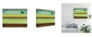"Trademark Global Pablo Esteban Singled Trees Painted 2 Canvas Art - 15.5"" x 21"""