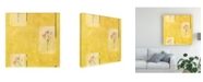 "Trademark Global Pablo Esteban Pink Frames Canvas Art - 15.5"" x 21"""