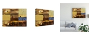 "Trademark Global Pablo Esteban Tuscan Villa Pattern 2 Canvas Art - 27"" x 33.5"""