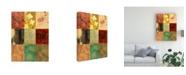"Trademark Global Pablo Esteban Patchwork 2 Canvas Art - 36.5"" x 48"""