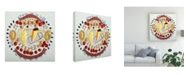 "Trademark Global Patricia A. Reed Pasta Per Tutti I Canvas Art - 36.5"" x 48"""