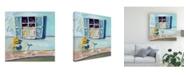"Trademark Global Patricia A. Reed Window I Canvas Art - 15.5"" x 21"""