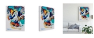 "Trademark Global Tadeo Zavaleta Searching For My Heart Canvas Art - 36.5"" x 48"""