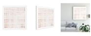 "Trademark Global Emma Scarvey Woven III Canvas Art - 15.5"" x 21"""