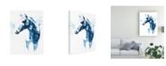 "Trademark Global Julie T. Chapman Blue Agate III Canvas Art - 27"" x 33.5"""