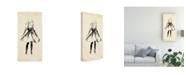 "Trademark Global Melissa Wang Fashion Glimpse I Canvas Art - 15.5"" x 21"""