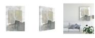 "Trademark Global Jennifer Goldberger Muted Mod Shapes I Canvas Art - 15.5"" x 21"""