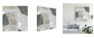 "Trademark Global June Erica Vess Rock Garden IV Canvas Art - 15.5"" x 21"""