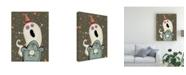 "Trademark Global Viv Eisner Happy Haunting III Canvas Art - 27"" x 33.5"""
