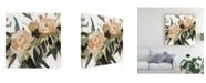 "Trademark Global Emma Scarvey Floral Disarray III Canvas Art - 19.5"" x 26"""