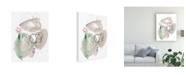 "Trademark Global Jennifer Paxton Parker Sea Glass Stack II Canvas Art - 15.5"" x 21"""
