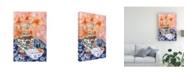 "Trademark Global Melissa Wang Elegant Arrangement III Canvas Art - 27"" x 33.5"""