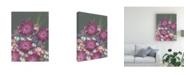 "Trademark Global Regina Moore Mauve Wildflower Garden I Canvas Art - 27"" x 33.5"""
