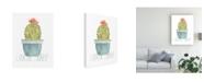 "Trademark Global June Erica Vess Punny Plant II Canvas Art - 27"" x 33.5"""