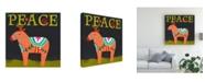 "Trademark Global June Erica Vess Nordic Joy II Canvas Art - 19.5"" x 26"""
