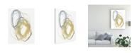 "Trademark Global Jennifer Goldberger Interlock I Canvas Art - 15.5"" x 21"""
