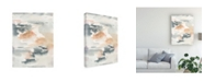 "Trademark Global Joyce Combs Lily Pad Impressions II Canvas Art - 27"" x 33.5"""